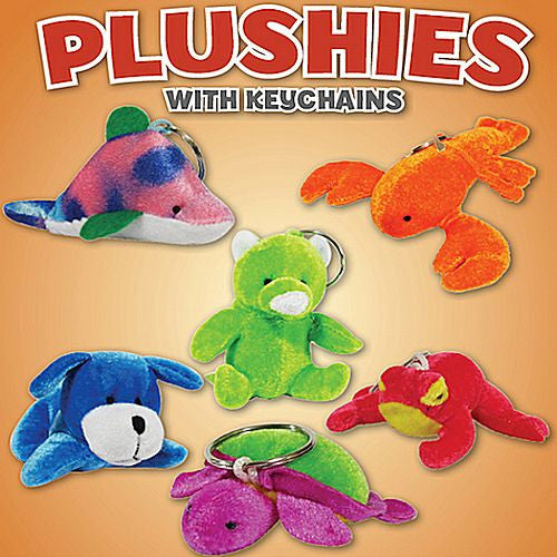 Plushies with Keychains 4 Inch Toy Capsules