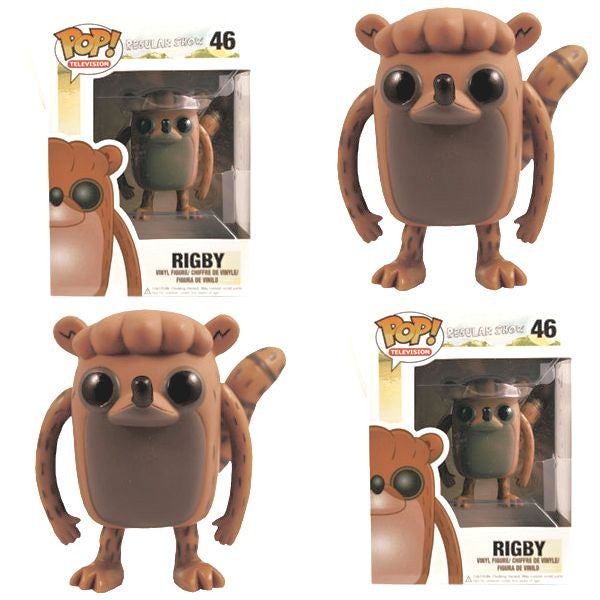 Pop! Regular Show - Rigby prize kit