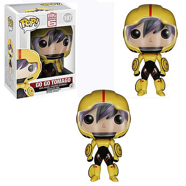 Pop! Big Hero 6 - Go Go Tomago prize kit
