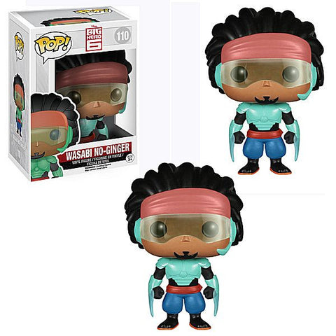 Pop! Big Hero 6 - Wasabi No Ginger prize kit