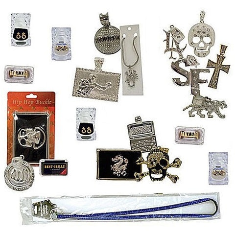 Premium prize kit that includes pendants, buckles and jewelry