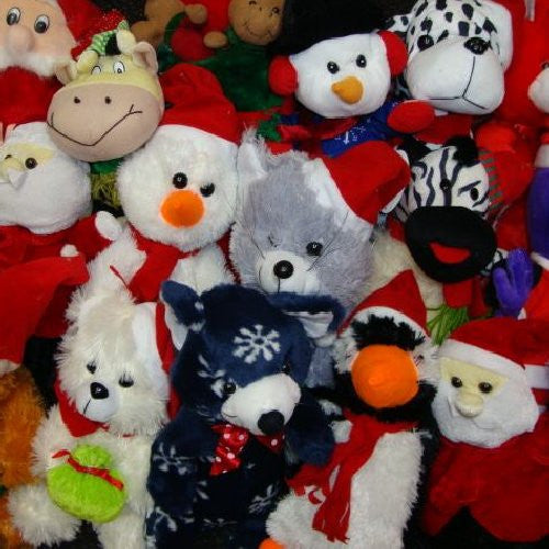 Premium Jumbo Christmas Plush Mix