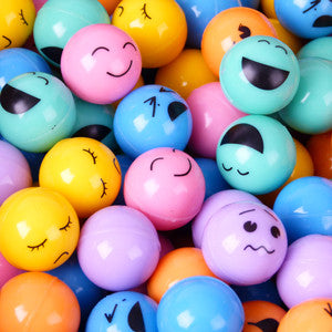 45 mm Printed Face Bouncy Balls