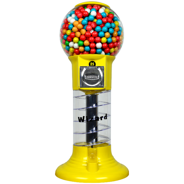 "27"" Mini Wizard Spiral Gumball Machine Parts"