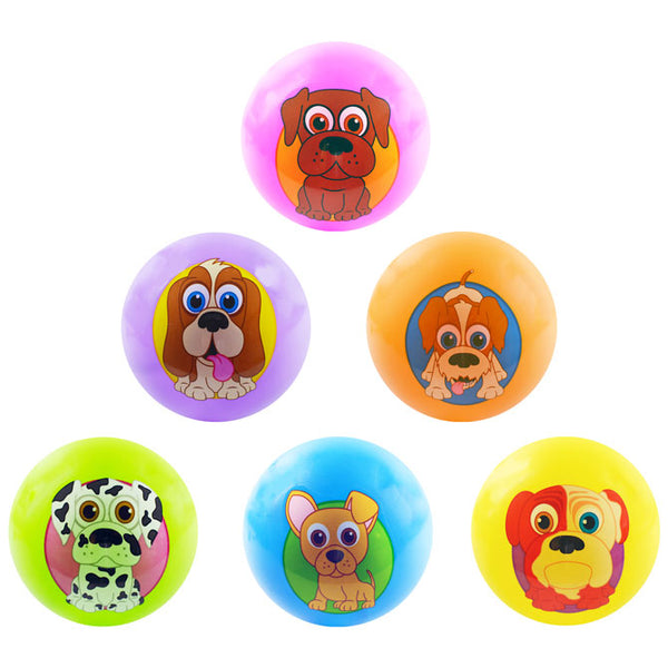 5-Inch Inflatable Balls with PuppyPalz characters product detail