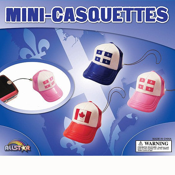 Quebec Hat Chaniables 2 Inch Capsules