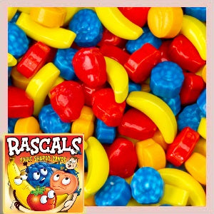 Rascals Fruit Shaped Candy