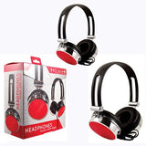 Red and Black Style Headphones