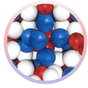 Red White & Blue Gumballs