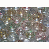 27 mm Colored Sparkle Bouncy Balls - Superball Refill