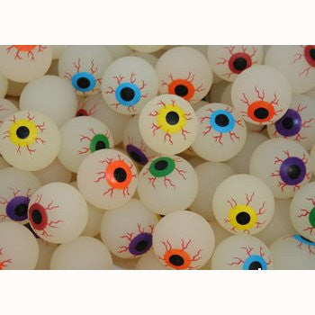 27 mm Glow In The Dark Evil Eyeballs - Superball Refill