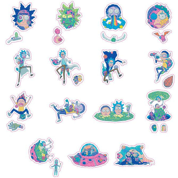 Rick and Morty Series #3 Stickers Product Detail