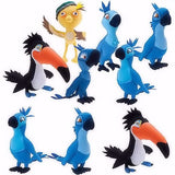 Rio 2 Jumbo Plush Mix - 48 ct