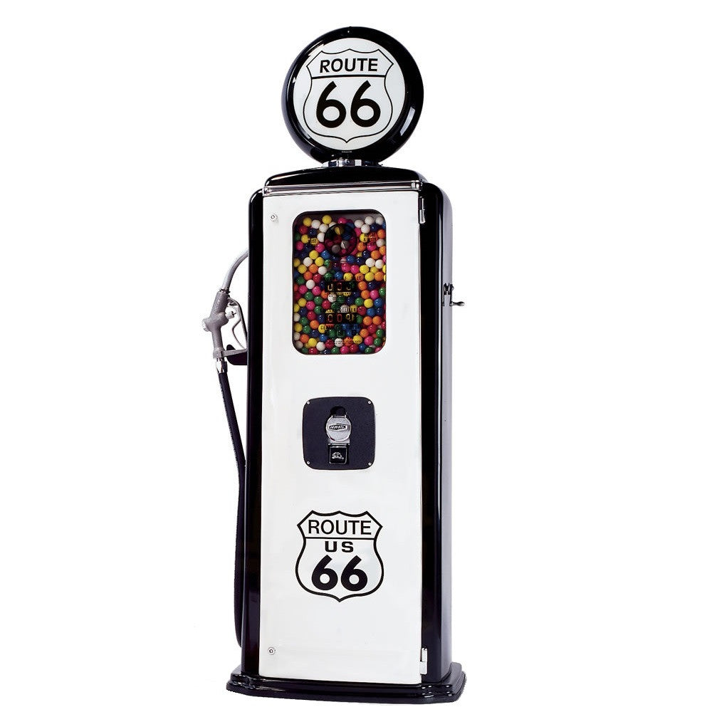 Route 66 Gas Pump Gumball Machine