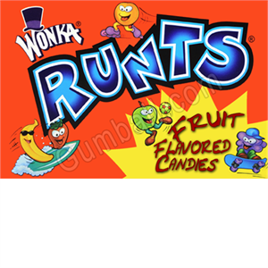 Runts Vending Label