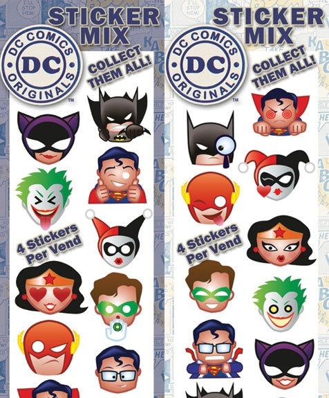 DC Emoji Stickers display