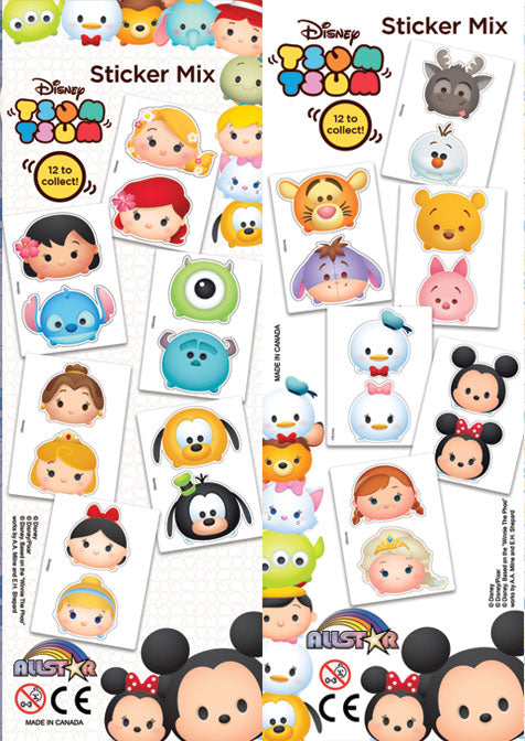 Disney Tsum Tsum Stickers product detail
