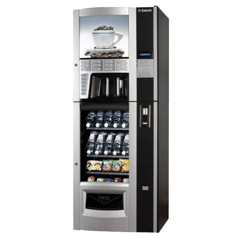 Saeco Diamante - Espresso, Coffee, Cold Beverage and Snack Vending Machine