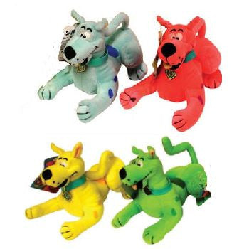 Scooby Doo Neon Small Plush Mix - 112  ct