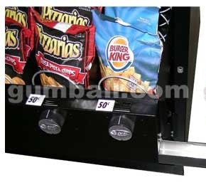 Pricing stickers for Seaga mechanical vending machine