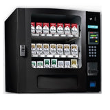 Seaga SM16 CIG small sized cigarette vending machine in black