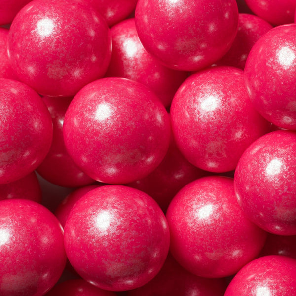 Shimmer Bright Pink Gumballs 2 Pounds