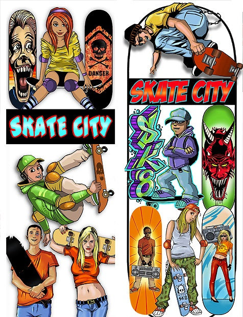 skate city vending stickers product detail