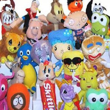 100% Licensed Small Plush Mix - 180 ct