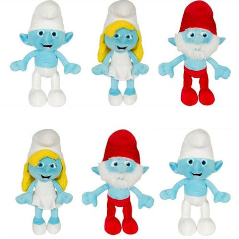 Smurfs Classic Jumbo Plush Mix - 48 ct