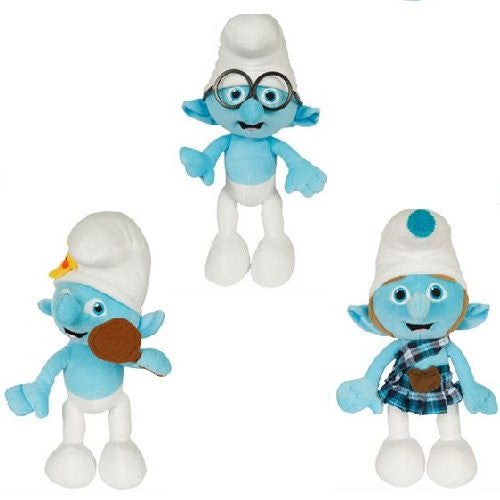 Smurfs 2 Jumbo Plush Mix - 48 ct