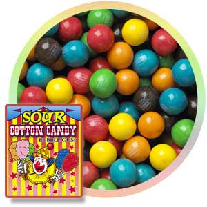 Sour Cotton Candy Gumballs