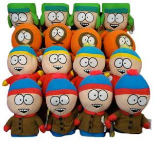 South Park 50% licensed plush toy crane mix