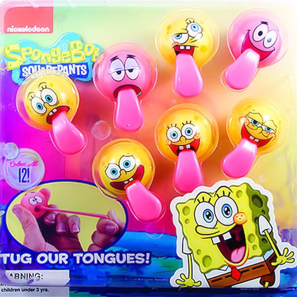 SpongeBob Tongue Tuggers display image