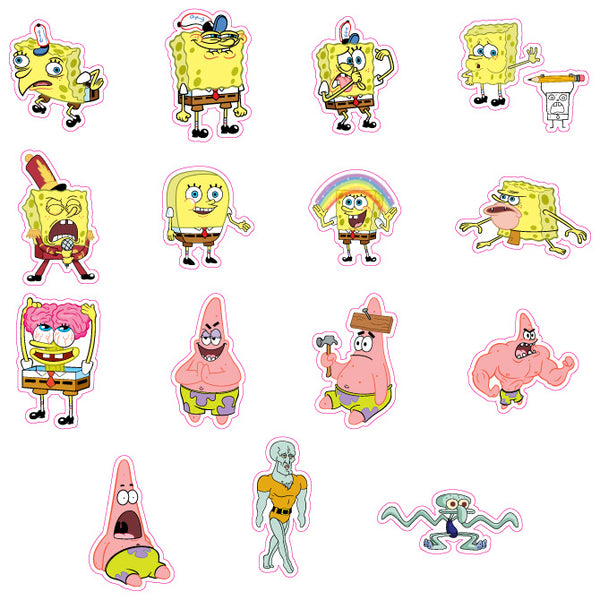 SpongeBob Squarepants Meme Stickers Product Detail