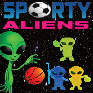 "Sporty Aliens 1"" Capsules Product Image"