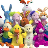 Springtime Non-Licensed Jumbo Plush Mix - 48 ct