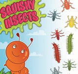 Squishy insects display