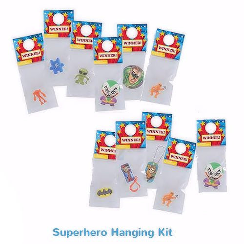 Superhero Hanging Prize Kit