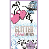 Glitter Sweet Tattoos display card front side
