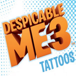Despicable Me 3 tattoos in vending folders