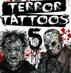 Terror Tattoos Series spooky horror vending machine