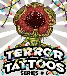 terror vending tattoos series six spooky scary horror