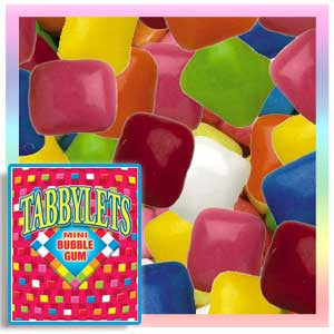 Tabbylets Mini Chicle Gum