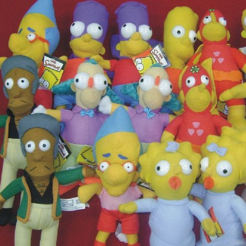 The Simpsons Plush Toys Crane MIx