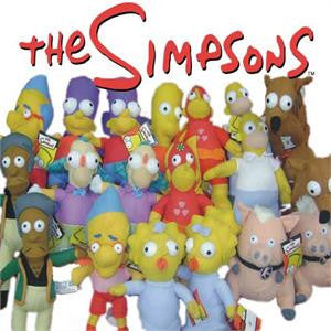 The Simpsons 50% licensed plush toy crane mix
