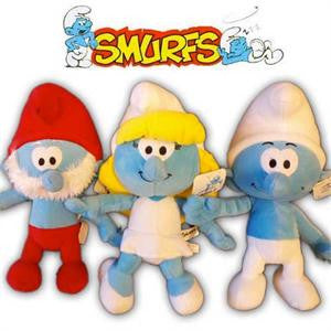 The Smurfs Plush Toys Crane MIx