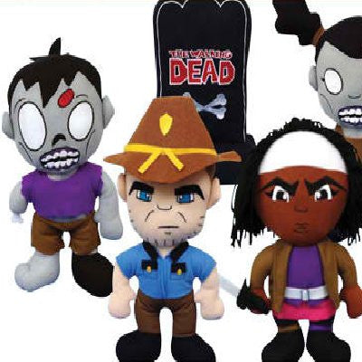 The Walking Dead Jumbo Plush Mix - 54 ct