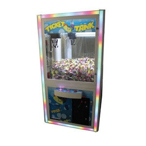 Ticket Tank crane claw machine