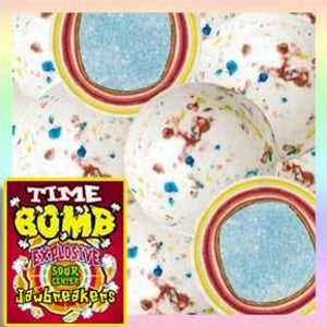 Time Bomb Jaw Breakers with Candy Center