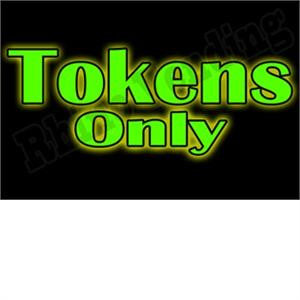 Tokens Vending Label